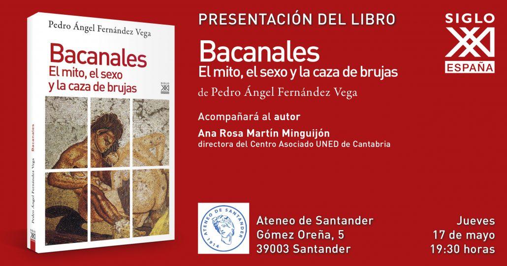 """Presentación del libro """"Bacanales"""" en el Ateneo"""