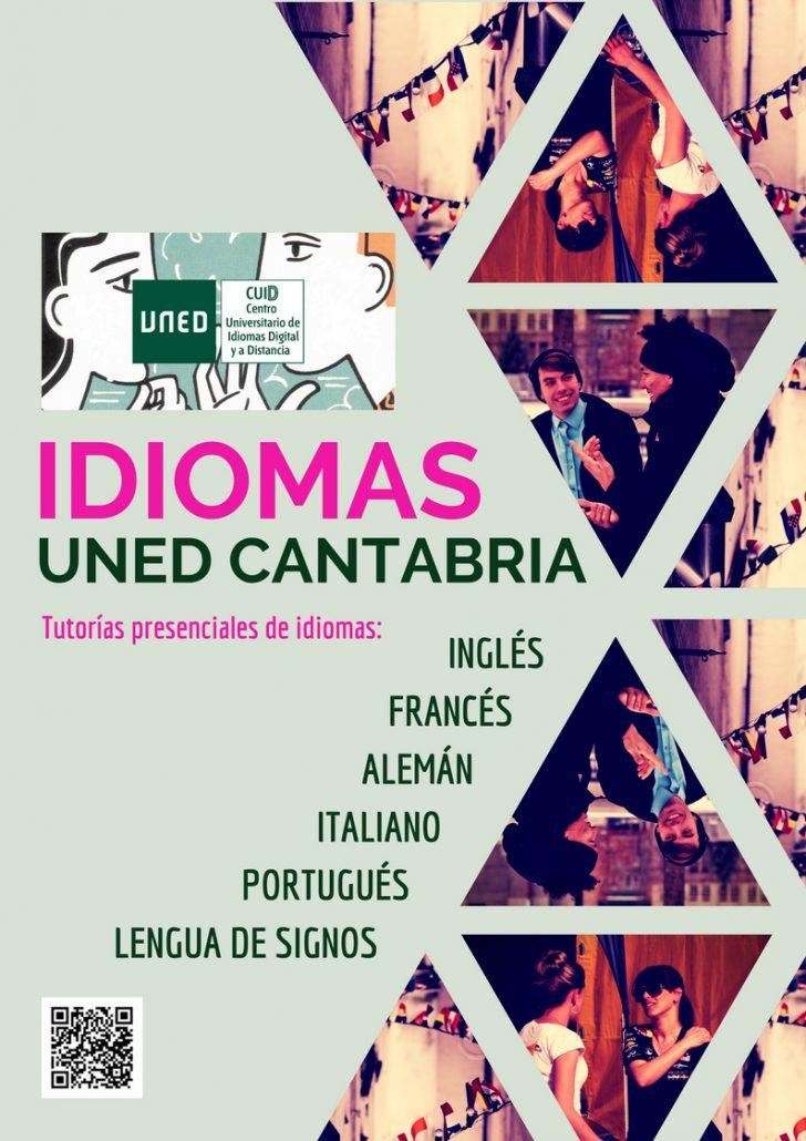CUID-UNED CANTABRIA-IDIOMAS 2018-2019 - CARTEL