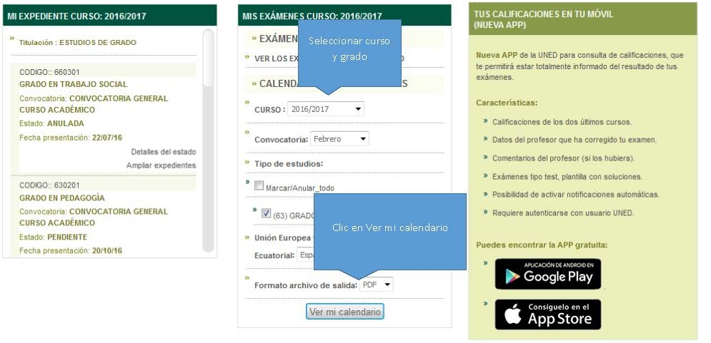 Uned Calendario Examenes.Calendario De Examenes Uned Cantabria