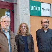 Firmado acuerdo-congreso-exilio republicano UNED Cantabria y Fundación Bruno Alonso