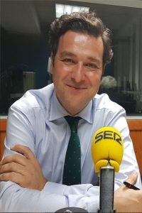 José Antonio Carbonero, director de Cadena SER Cantabria