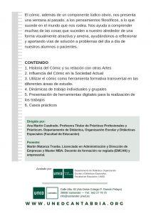 """En marzo, curso sobre """"El Cómic como Herramienta Educativa"""" en UNED Cantabria"""