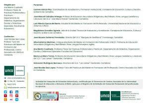 Curso Máster Profesorado en UNED Cantabria en mayo
