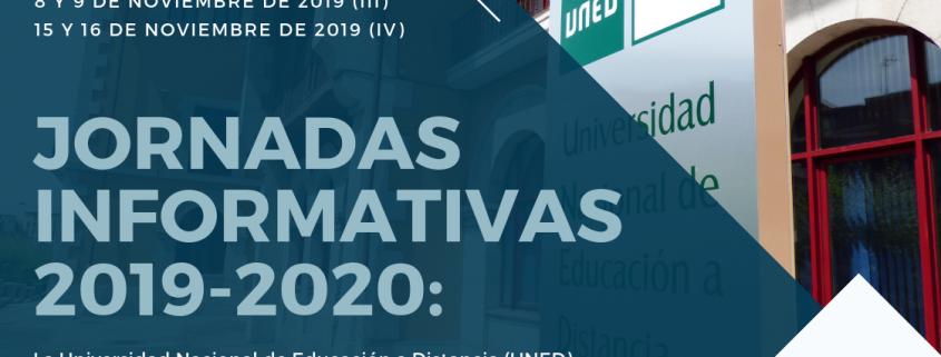 UNED Cantabria programa Jornadas Informativas 2019-2020