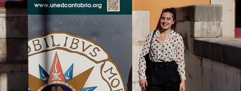 Micaela Magali Fontana estudiante del Grado Derecho en UNED Cantabria