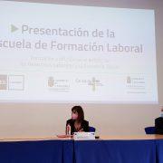 La Escuela de Formación Laboral presentada en UNED Cantabria